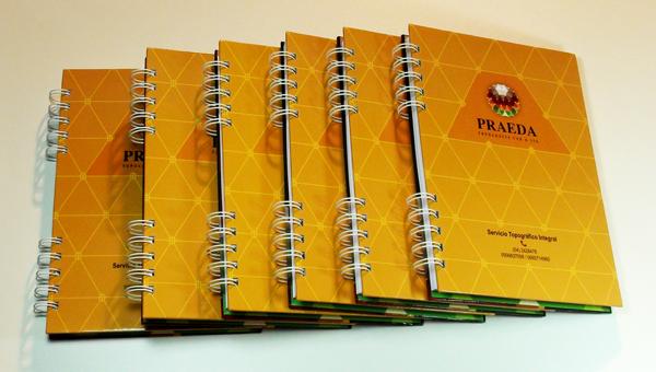 Cuadernos empresariales tapa dura en Guayaquil Ecuador